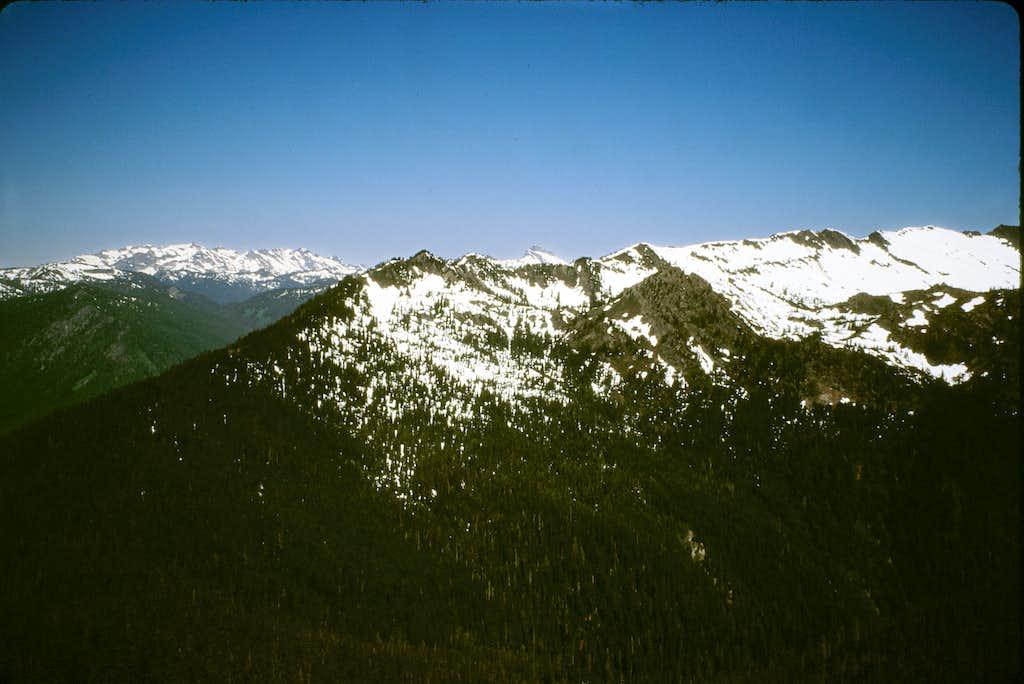 Poe Mt. from Irving Peak