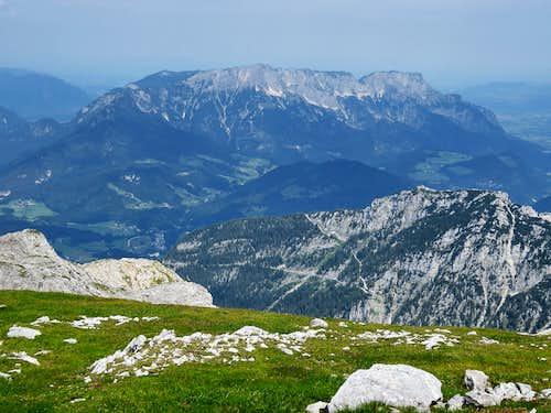 Berchtesgadener and Salzburger Hochtron