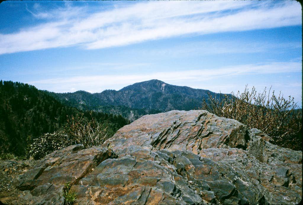 Mt. Kephart from Charlie's Bunion