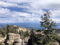 Summit looking East
