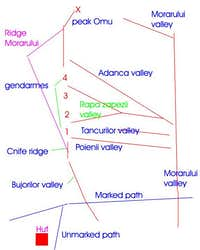 Area Morarului schema