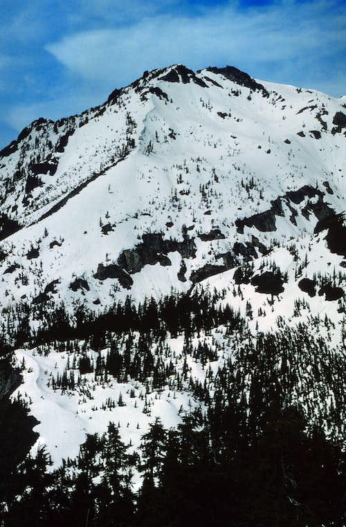 Snoqualmie Mountain From Guye summit