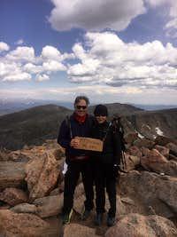Mt. Bierstadt 8-17-19 14,060