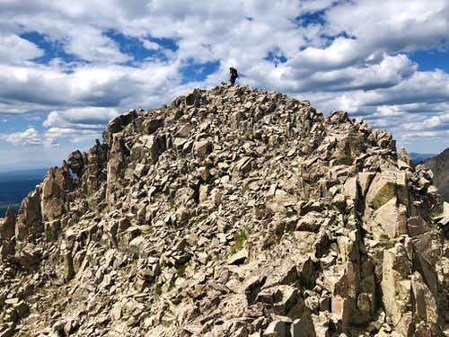Summit of Babcock Peak