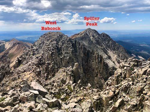 Spiller Peak and West Babcock