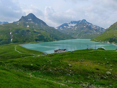Quick trip from Bielerhohe to Bielerspitze