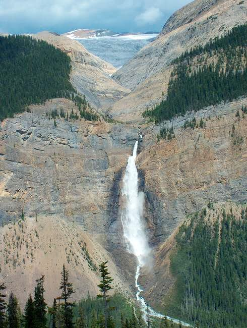 Takakkaw Falls, 5.6, 12 Pitches