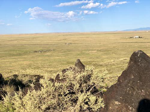 View from Black Volcanoe