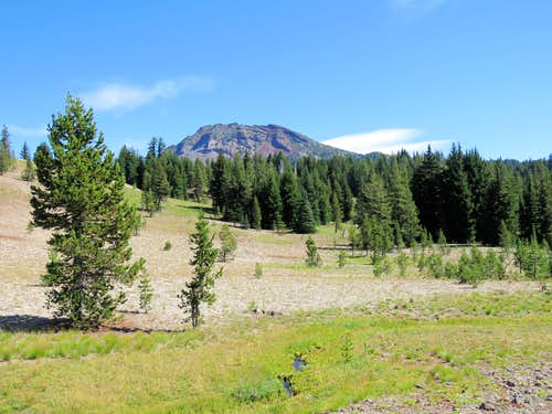 Ball Butte, Three Sisters Area, Oregon