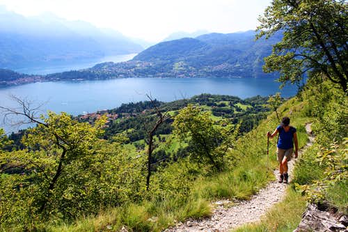 Path on Sasso di San Martino
