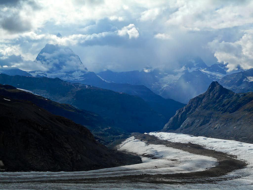 Gornergletscher and Matterhorn