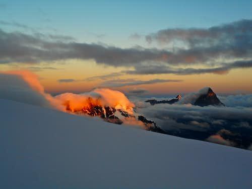 Breithorn sunrise