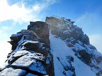 Dufourspitze summit approach