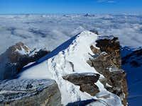 Dufourspitze summit
