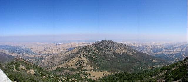 Panorama of North Peak, from...