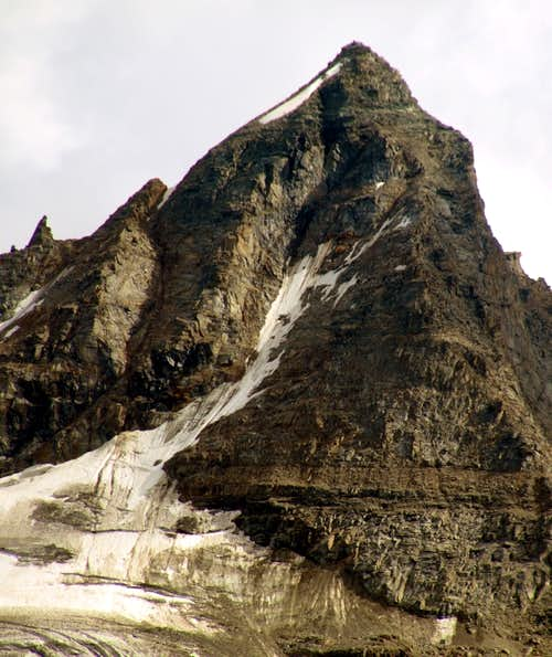 A hot & ... : Becca di Monciair Northern Face
