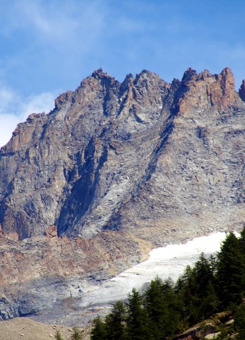 A hot & ... : Herbetet Western Face & famous Southern Crest