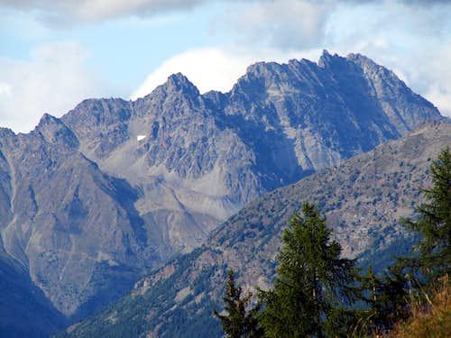 A hot & ... : Bonin-Quaini-Fiorio-Gontier-Chabod-Binel-Clapier-Southern Morion-Gallo-Central Morion Ridge
