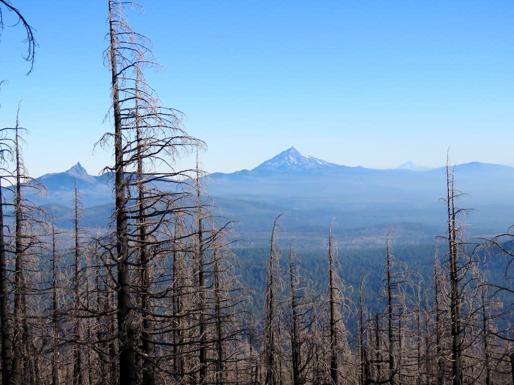 Mt. Hood, Jefferson & Three Fingered Jack