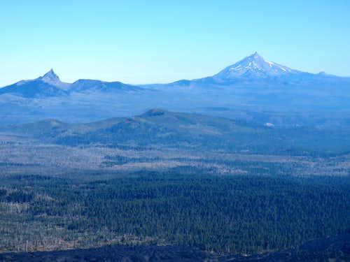 Mt. Jefferson & Three Fingered Jack