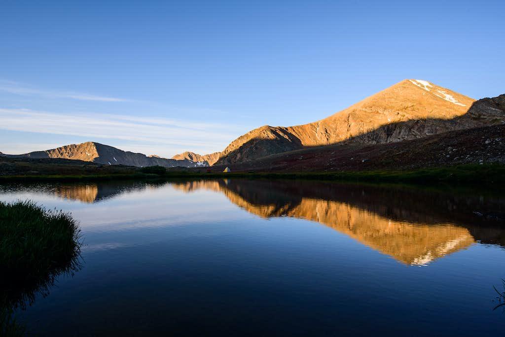 Mt Oklahoma Sunrise Reflection