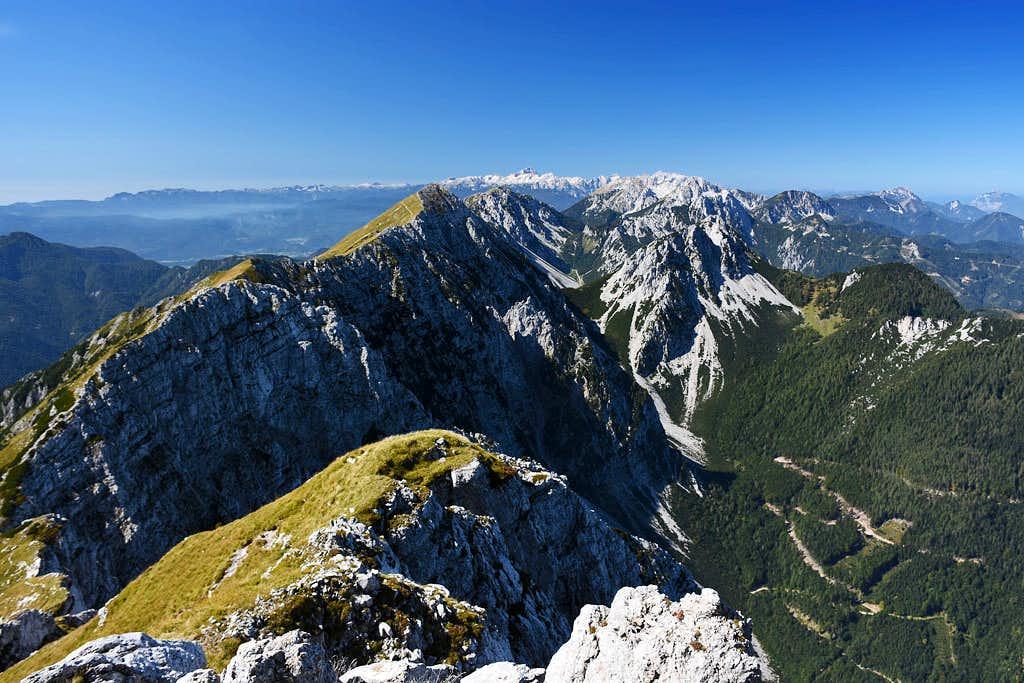 Kladivo / Hajnzturm panorama