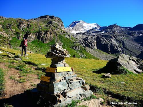Approaching Colle di Salza, Alta Luce