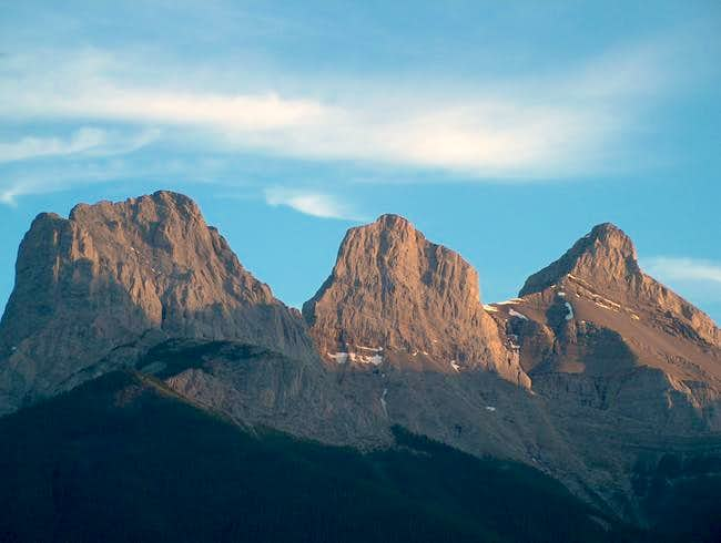 Three Sisters in the summer,...