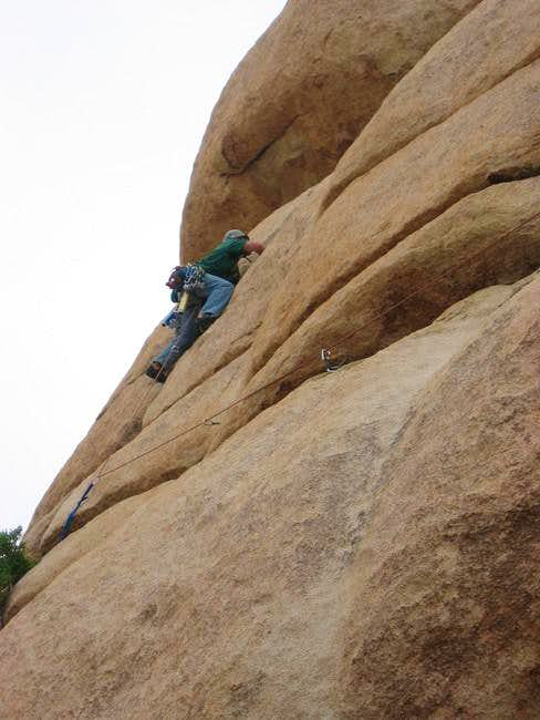 Climbing the semi-enjoyable...
