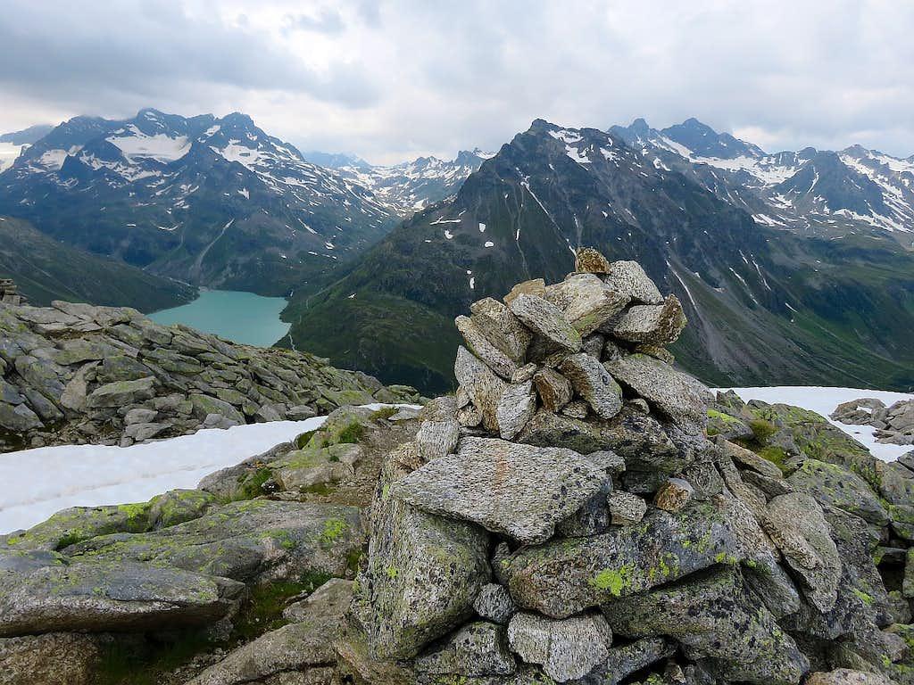 Bielerspitze summit view