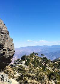 Mt Baldy Devils Backbone 1