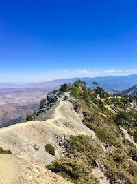 Mt Baldy Devils Backbone 2