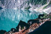 Colchuck Lake, 1989