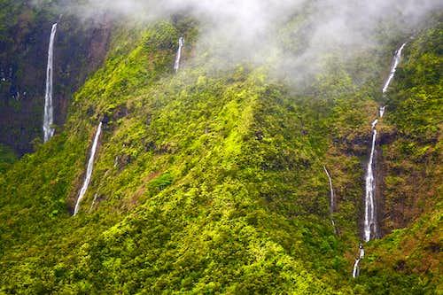 Waimea Canyon Waterfalls