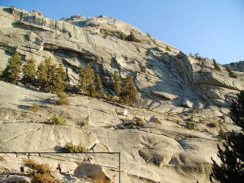 The Ebersbacher Ledges on the...