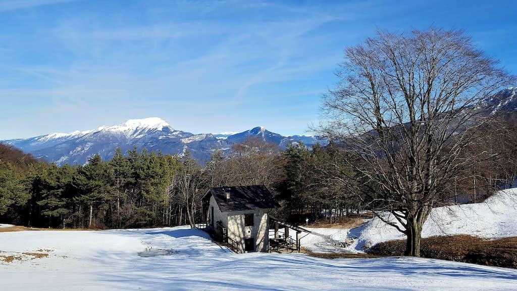 Monte Stivo seen from Malga Palaer
