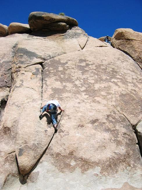 The crux (R-hand variation)...