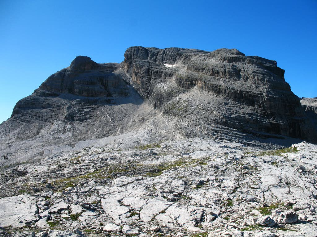 Alfredo Benini ferrata, Cima Groste (2901m)