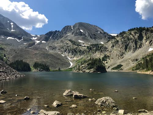 Lake Agnes/Northern end of the Never Summer Range
