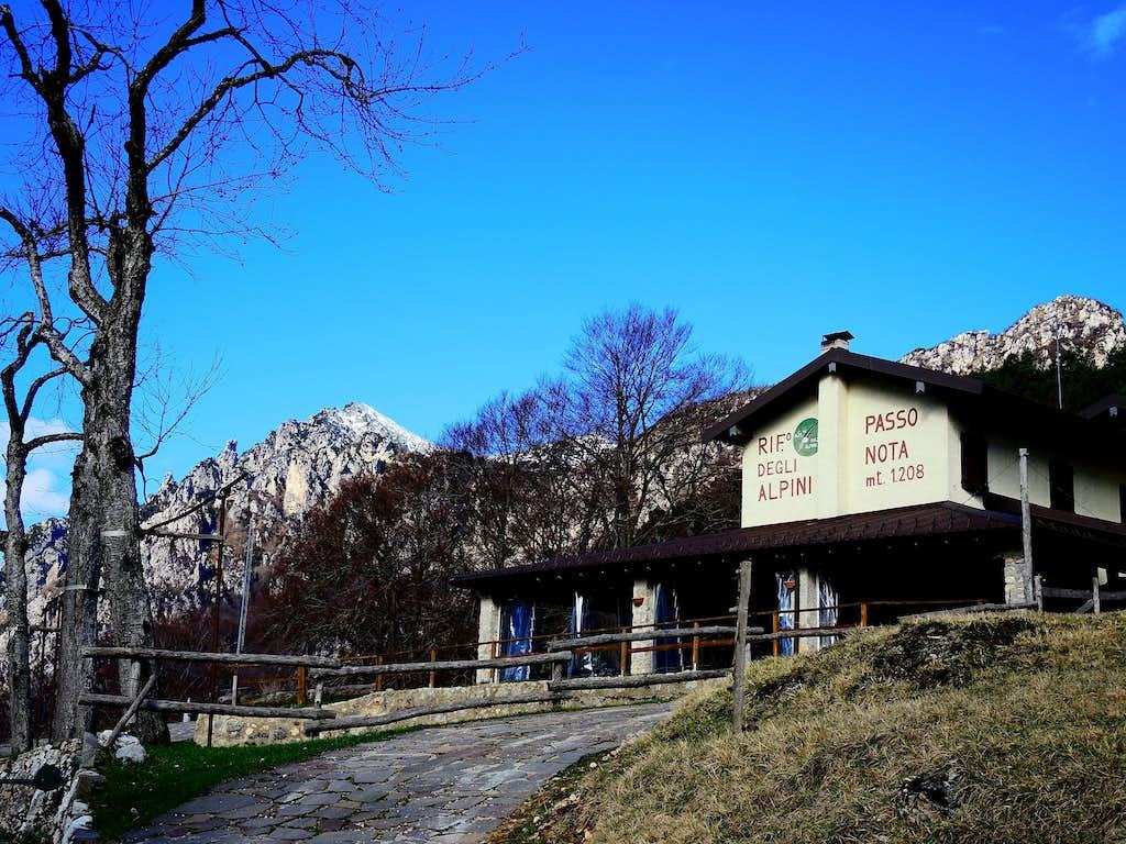Rifugio Alpini Passo Nota
