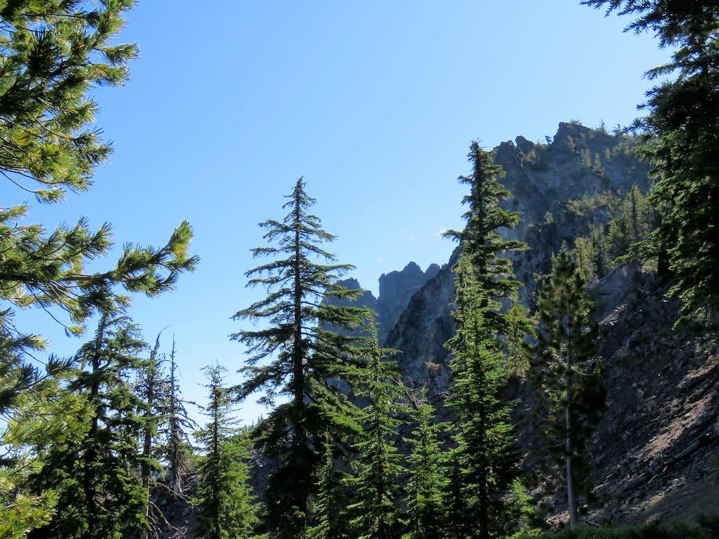 Summit of Paulina Peak