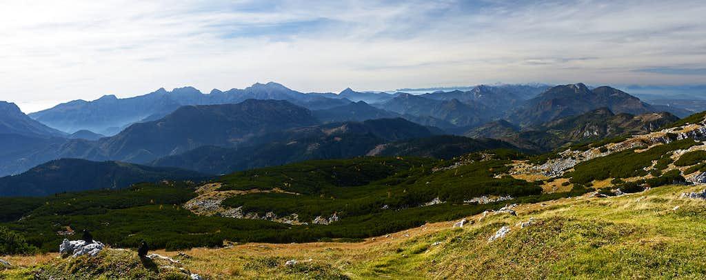 Peca / Petzen W panorama