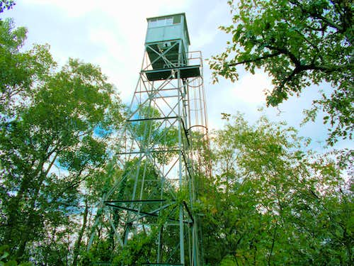 Saddle Mound Old Fire Tower