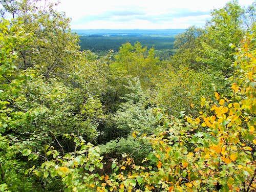 Saddle Mound Summit Ridge View Southwest