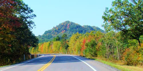 Highway 54 View of Saddle Mound East
