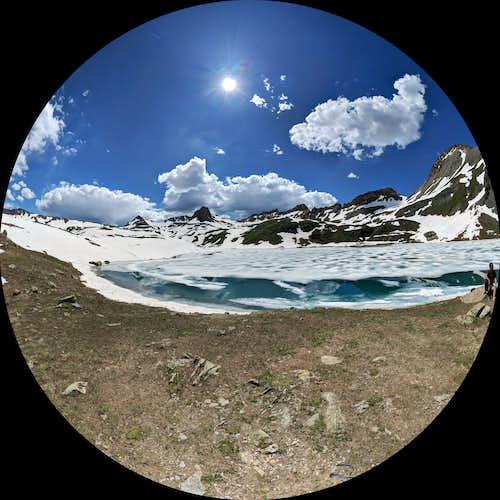 Ice Lake Fisheye view