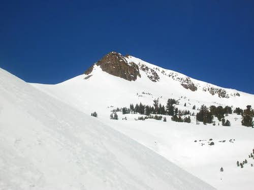 The summit of Stevens Peak....