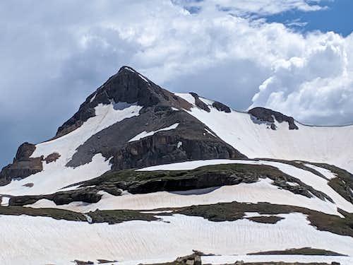 Fuller Peak from Ice Lake