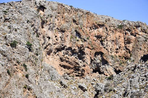 Gorge of the Dead, east Crete