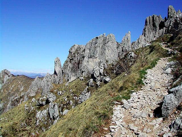 a view toward the pinnacles...